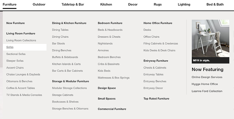 crate-and-barrel-homepage