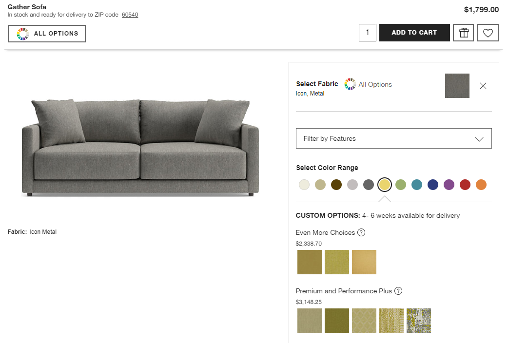 crate-and-barrel-product-page