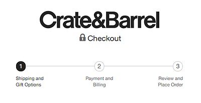 crate-and-barrel-checkout