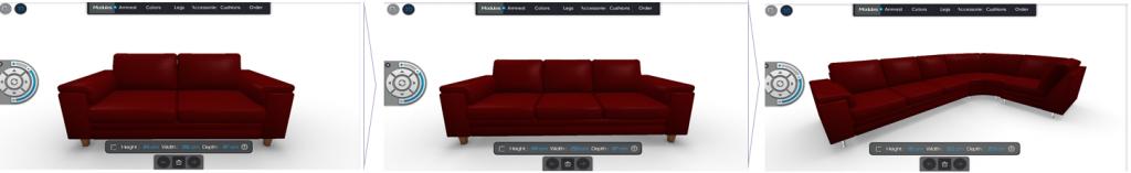 sofa furniture customized