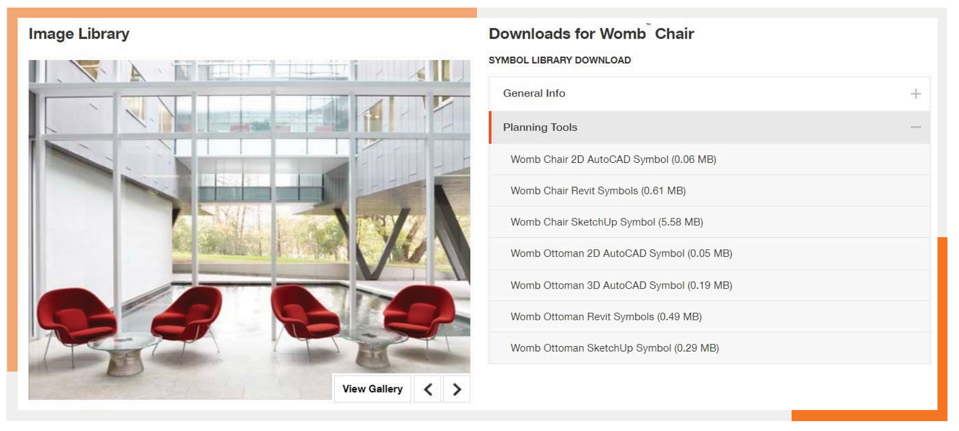 knoll-product-page-library