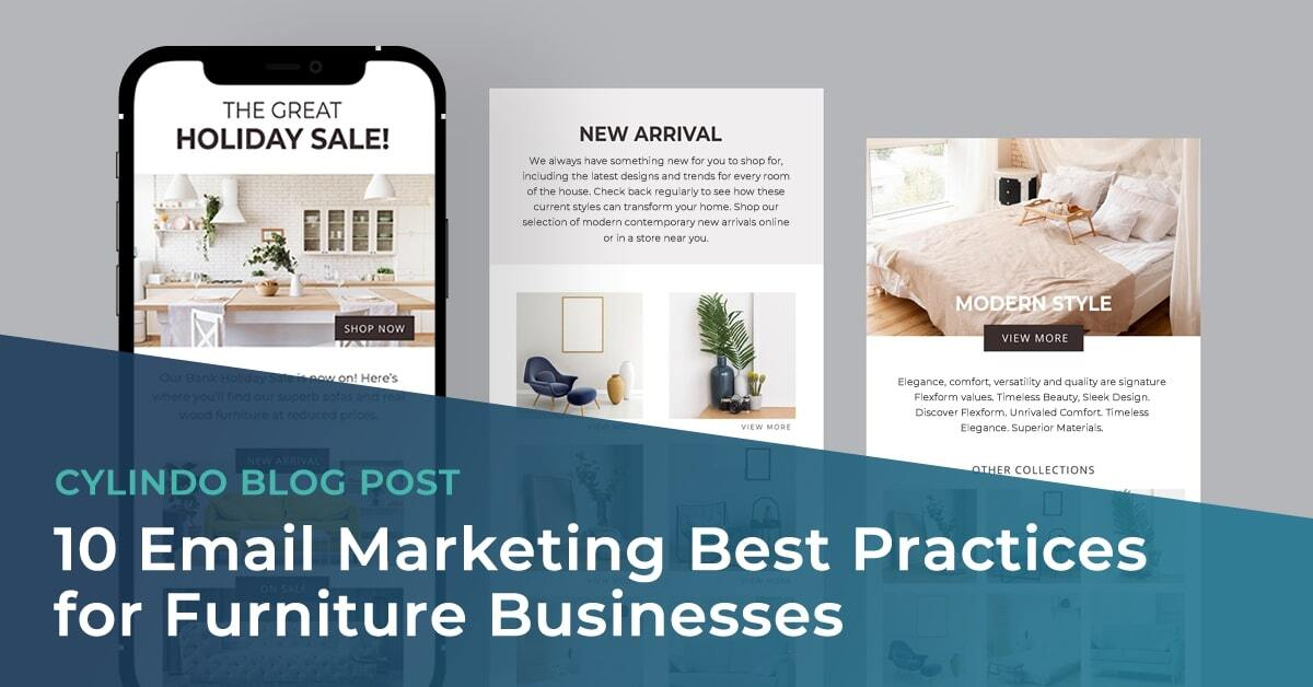 10 Email Marketing Best Practices for Furniture Businesses