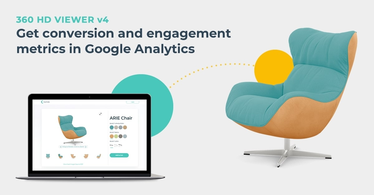 Cylindo 360 HD Viewer v4 Is Here - Now Seamlessly Integrating With Google Analytics