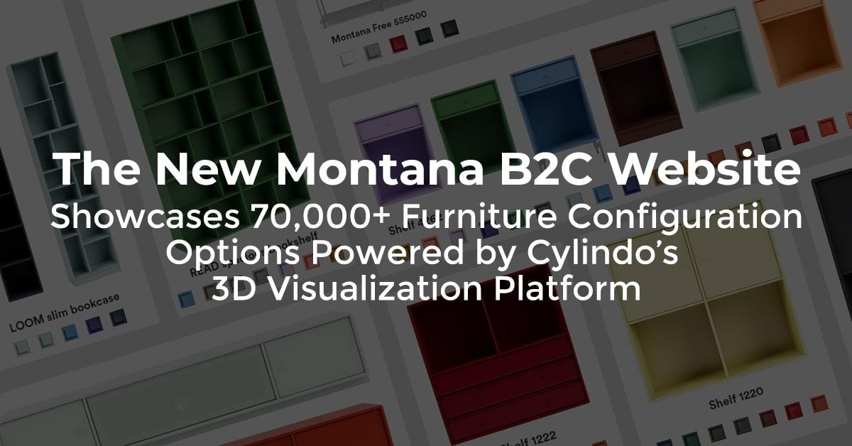 New Montana B2C Website Displays 70K+ Furniture Configuration Options