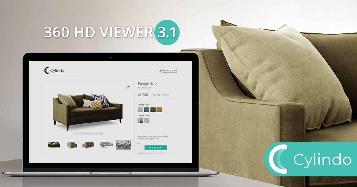 Introducing the new version of 360 HD Viewer: Enhanced Shopping Experience with Rich Product Content