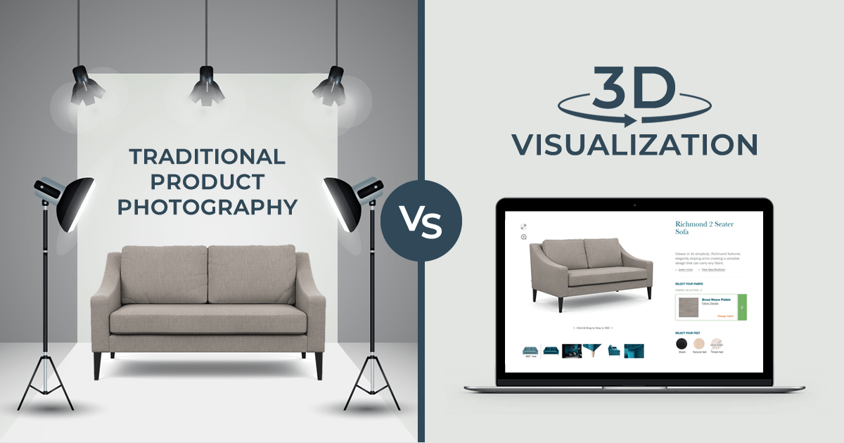 Traditional Photography vs. 3D Product Visualization: How to Make the Right Choice