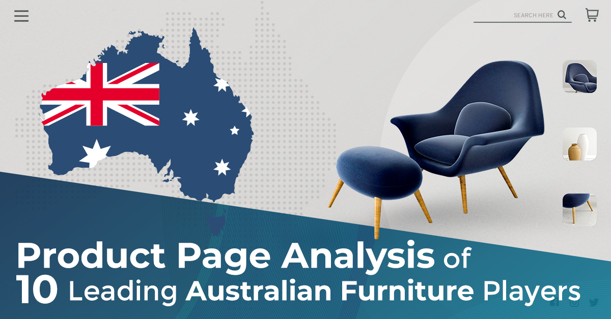 Product Page Analysis of 10 Leading Australian Furniture Players
